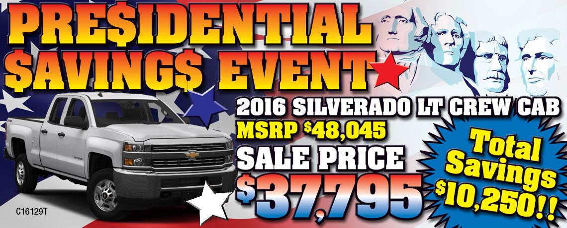 Presidential-2016-Silverado